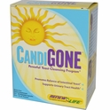 CandiGone, Powerful Yeast Cleansing Program, 60 Veggie Caps, 1 fl oz Tincture, Renew Life