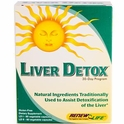 Liver Detox, 30 Day Program, Renew Life