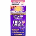 Norwegian Gold, First Omega, Ultimate Fish Oils, Natural Orange Flavor, 60 Fish Gels, Renew Life
