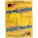 Organic Fiber Bar, Lemon Burst, 18 Bars, 50 g Each, Renew Life