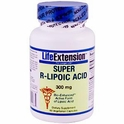 Super R-Lipoic Acid, 300 mg, 60 Veggie Caps, Life Extension
