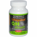 Ubiquinol QH-Absorb, 200 mg, 60 Softgels, Jarrow Formulas