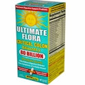 Ultimate Flora, Critical Colon, Bifido Max, 80 Billion, 30 Veggie Caps, Renew Life