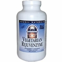 Vegetarian Rejuvenzyme, 500 Capsules, Source Naturals