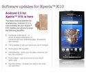 Android 2.3.3 for SE Xperia X10