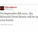 Fake Announcement of the Bionic