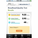 Test your Broadband phone with this App from the FCC
