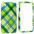 Apple iPhone 3G & 3GS Green Checker Cover