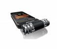 iPhone and External Microphone from Tascam