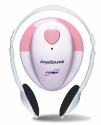 AngelSounds Fetal Doppler JPD-100S in Pink