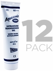 12 Pack x Aquasonic� 100 Water Soluble Hypoallergenic Ultrasound Transmission Gel
