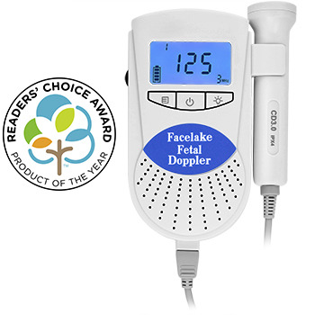 Sonoline B Fetal Doppler with 3Mhz probe, Blue