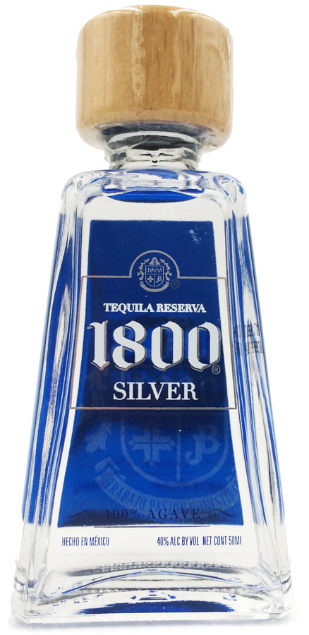 1800 Silver Tequila 50ml Buy Miniature Tequila Spirits