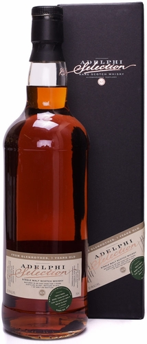 Adelphi Selection Glenrothes 7 Year Old Single Malt Scotch 2007