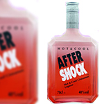 After Shock Cinnamon Schnapps (with Rock Candy) (Case of 12)