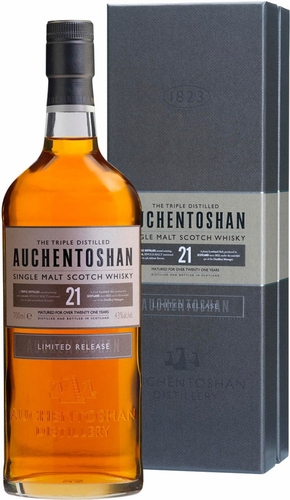 Auchentoshan 21 Year Old Single Malt Scotch