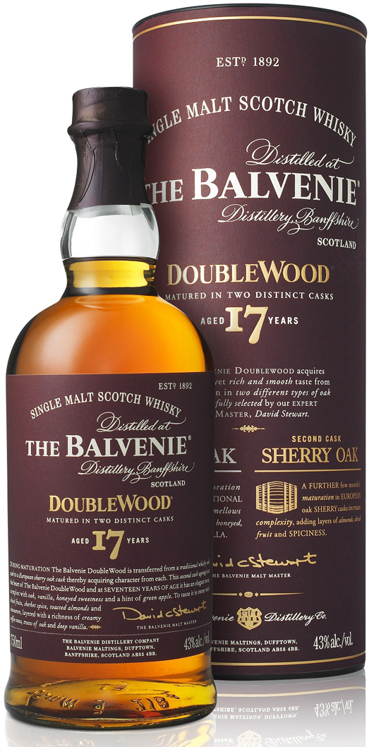 Balvenie 17 Year Old Doublewood Single Malt Scotch