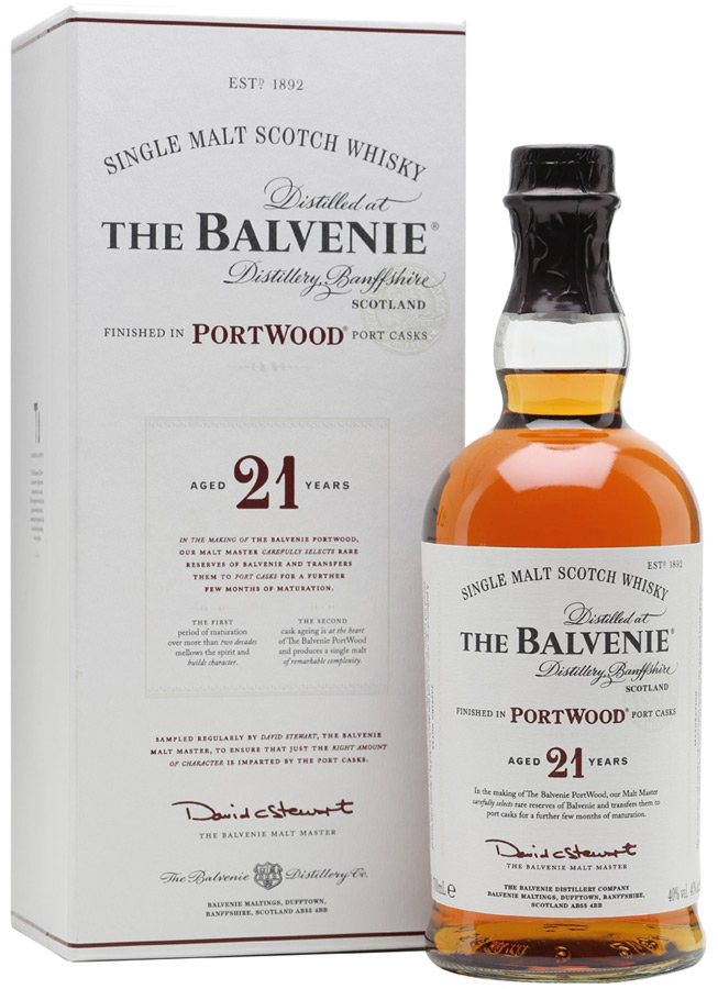 Balvenie 21 Year Old Portwood Finished Scotch