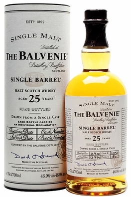 Balvenie 1988 25 Year Old Single Barrel | Whisky Auctioneer | Scotch ...