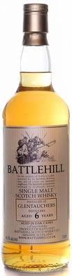 Battlehill Glentauchers 6 Year Old Single Malt Scotch