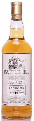 Battlehill Laphroaig 10 Year Old Single Malt Scotch