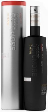 Bruichladdich Octomore 10 Year Old 2nd Release Single Malt Scotch 2016