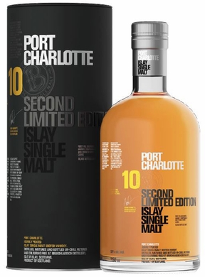Bruichladdich Port Charlotte 10 Year Old Second Limited Edition