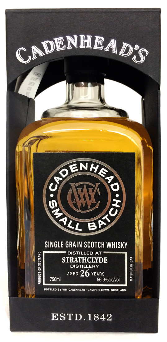 Cadenhead's Strathclyde 26 Year Old Single Malt Scotch