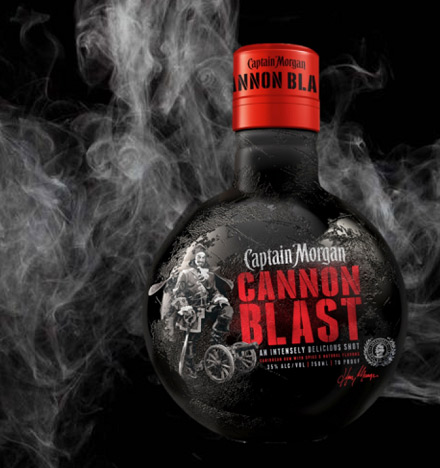 Captain Morgan Cannon Blast Shot