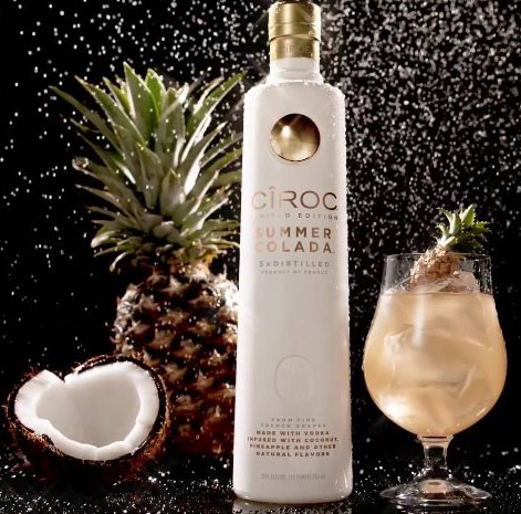 Ciroc Summer Colada Flavored Vodka- Buy Vodka Online