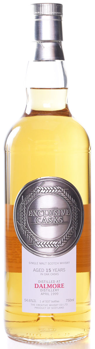 Exclusive Casks Dalmore 15 Year Old Single Malt Scotch 1999