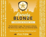 Fulton Lonely Blonde Ale 6pk Btl