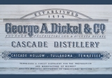 George Dickel Tennessee Whiskey