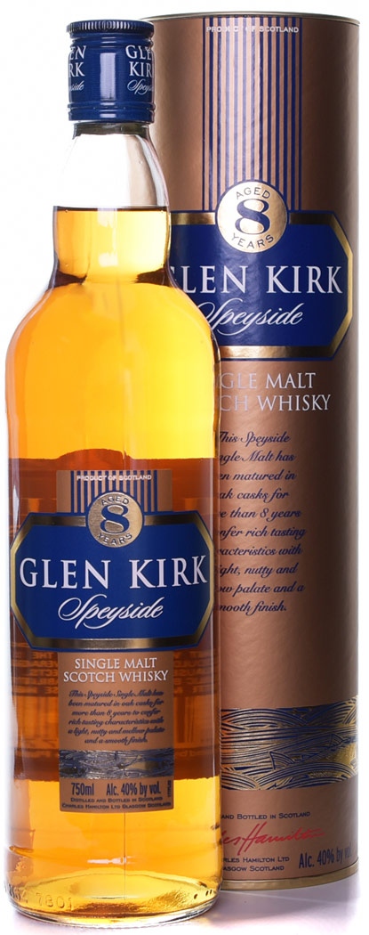 Glen Kirk 8 Year Old Speyside Single Malt Scotch