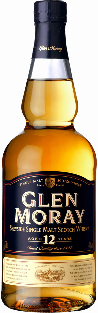 Glen Moray 12 Year Old Single Malt Scotch