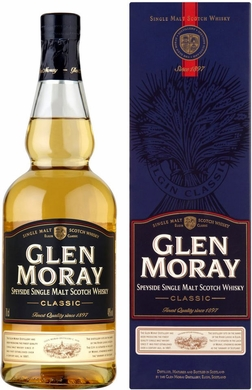 Glen Moray Classic Single Malt Scotch