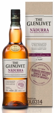 The Glenlivet Nadurra Cask Strength Oloroso Sherry Finished Single Malt Scotch