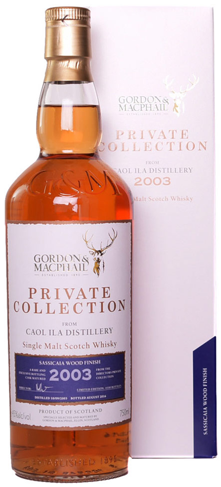 Gordon & MacPhail Caol Ila 12 Year Old Sassacaia Finish Single Malt Whisky