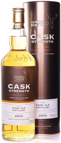 Gordon & MacPhail Caol Ila Cask Strength 10 Year Old Single Malt Scotch 2004