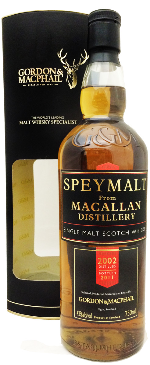 Gordon & MacPhail Speymalt Macallan 9 Year Old Single Malt Scotch
