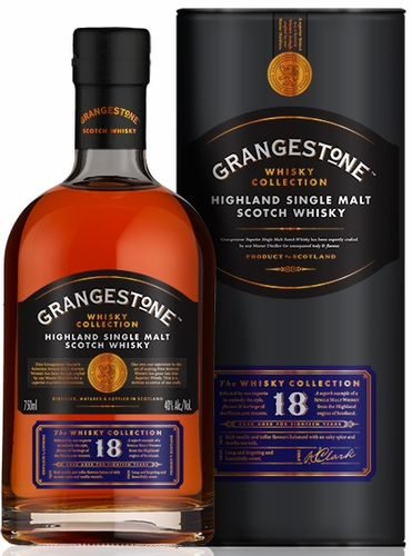Grangestone 18 Year Old Single Malt Scotch
