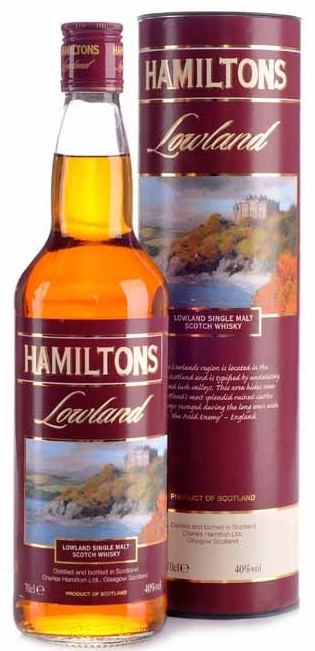 Hamiltons Lowland Single Malt Scotch Whisky