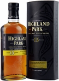 Highland Park 15 Year Old Single Malt Scotch