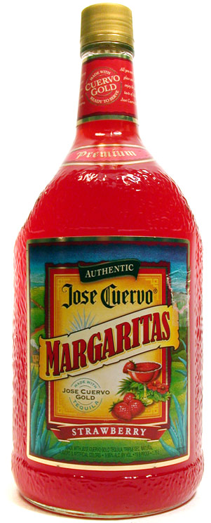 Jose Cuervo Authentic Strawberry Margarita 1.75
