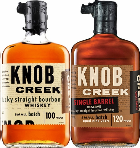 Knob Creek Two Pack- Small Batch & Single Barrel Bourbon
