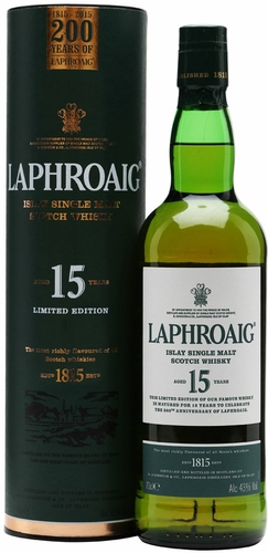 Laphroaig 15 Year Old 200 Year Anniversary Limited Edition Single Malt Scotch