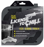 License to Chill Silicone Gun Shaped Ice Mold