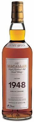 Macallan 1948 Fine & Rare 53 Year Old Single Malt Scotch