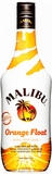 Malibu Orange Float Orange Cream Flavor Rum 1L