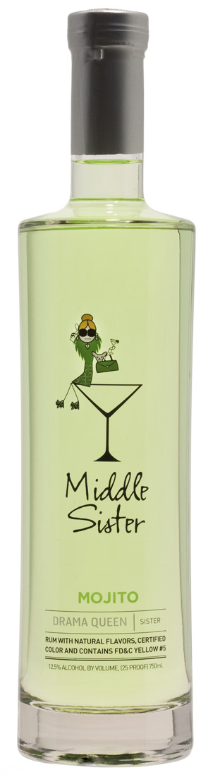 Middle Sister Drama Queen Mojito Cocktail